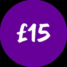 Donate £15