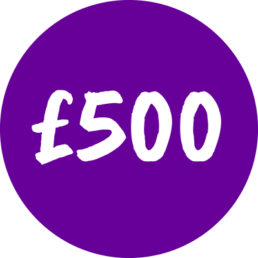 Donate £500