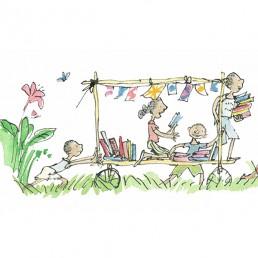 Book Cart Card