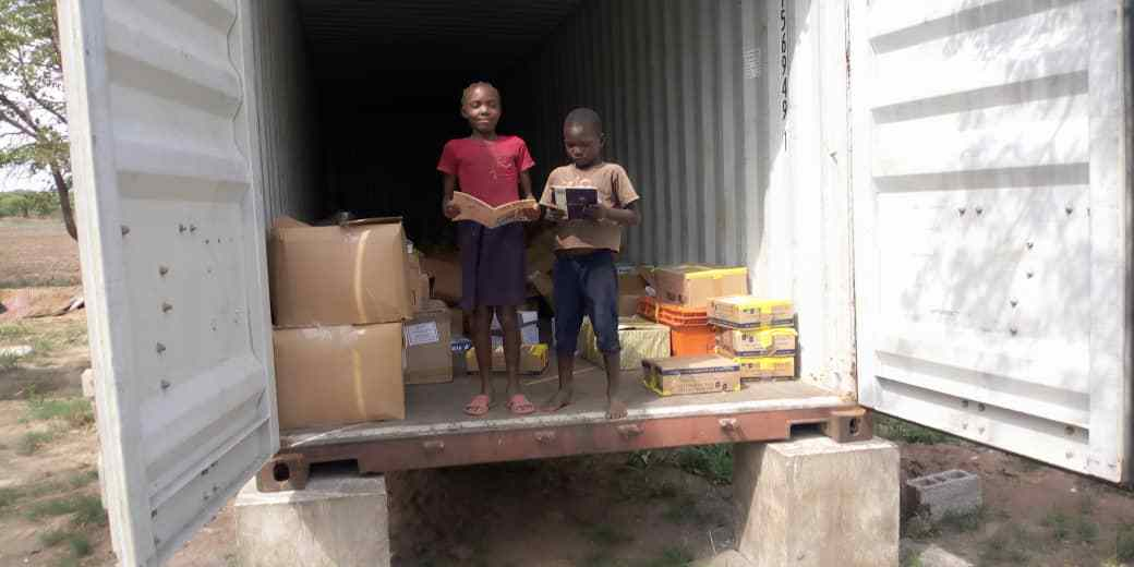 Tackling the global literacy crisis - A December 2020 book drop delivers the books that children want to read in Lusaka, Zambia.